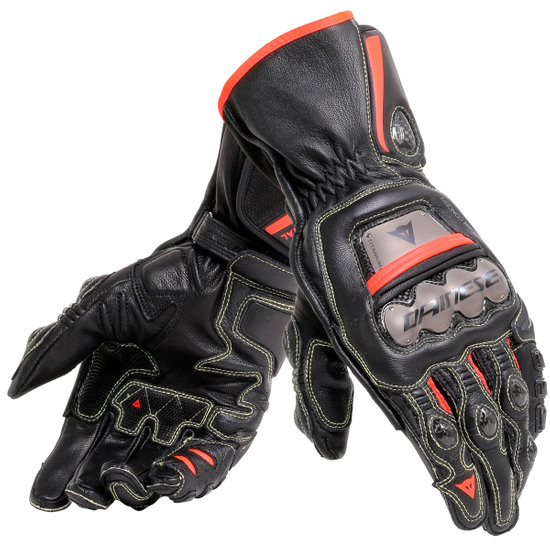 Guanto DAINESE Full Metal 6 Black / Red Fluo