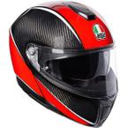 AGV Sportmodular Aero Carbon-Red
