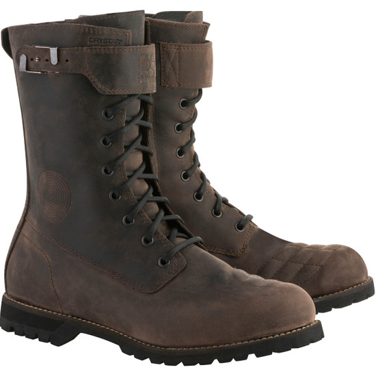 Botas ALPINESTARS Oscar Firm Drystar Dark Brown Oiled