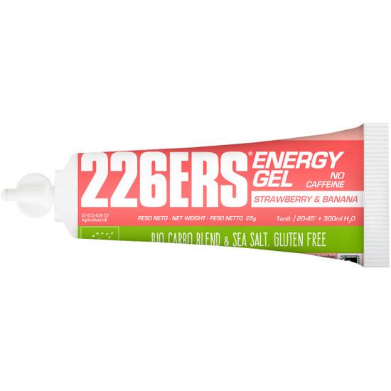 Nutrición 226ERS Energy Gel Bio 25gr. Strawberry & Banana