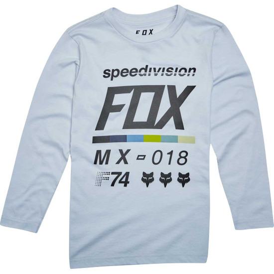 Camiseta FOX Draft Junior Light Heather Grey
