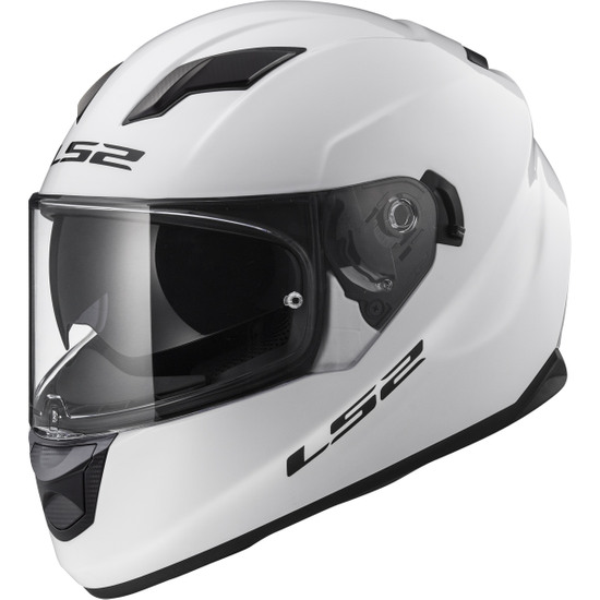 Casco LS2 FF320 Stream Evo White