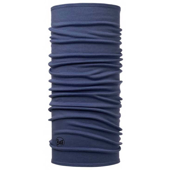 Ropa interior BUFF Midweight Merino Wool Solid Estate Blue