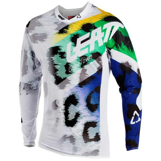 Camiseta LEATT GPX 5.5 Ultraweld 2018 Leopard