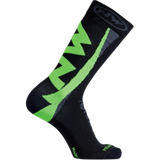 Calza NORTHWAVE Extreme Winter Black / Green Fluo
