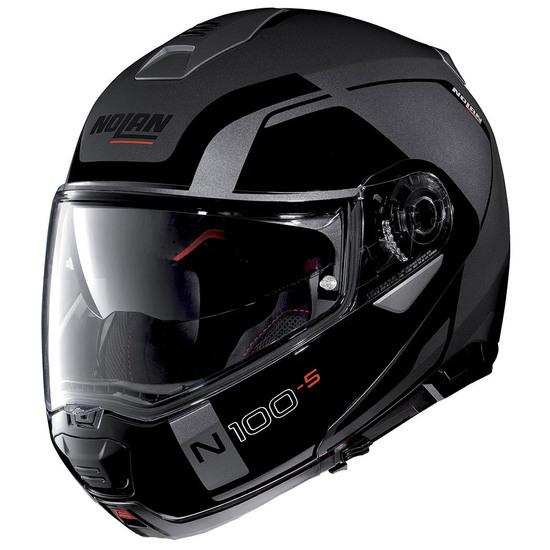 NOLAN N100-5 Consistency N-Com Flat Lava Grey Helmet