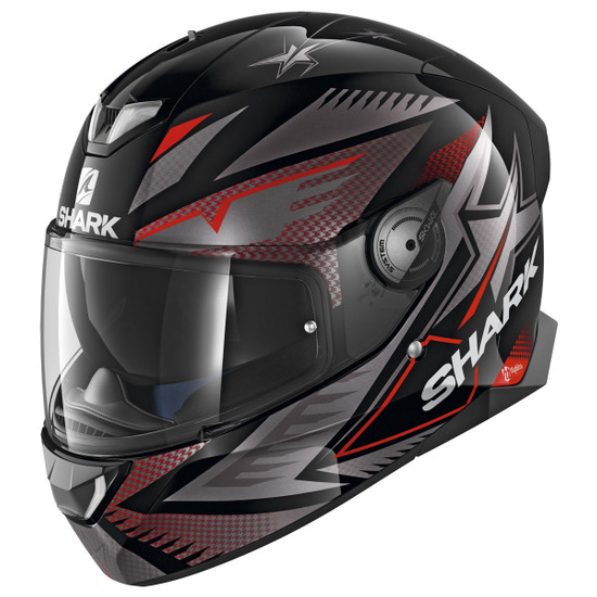 Casque SHARK Skwal 2 Draghal Black / Anthracite / Red