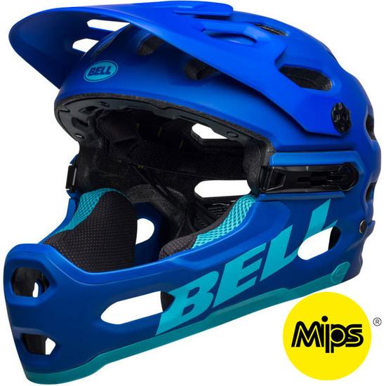 Casque BELL Super 3R MIPS Matte Blues