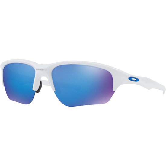 Maske / Brillen OAKLEY Flak Beta Polished White / Sapphire Iridium