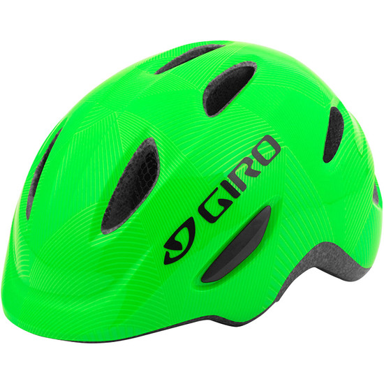 Capacete GIRO Scamp Junior Green / Lime Lines