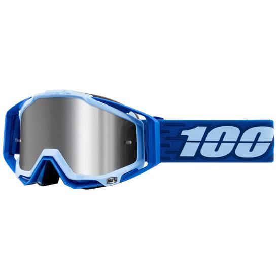 100% Racecraft + Rodion Mirror Silver Mask / Goggle