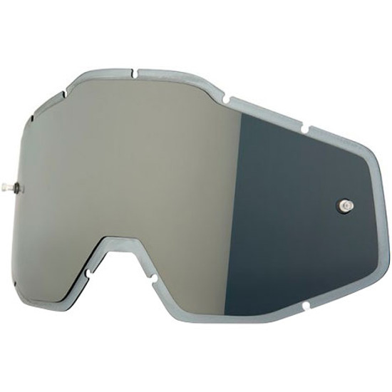 100% Injected Anti-Fog Silver Mirror Mask / Goggle