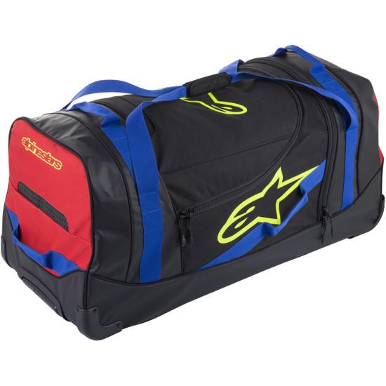 Tasche ALPINESTARS Komodo Black / Blue / Red / Yellow Fluo