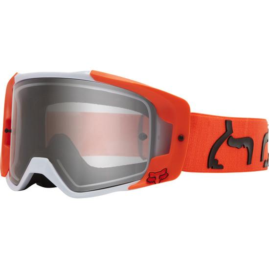 Máscara / Gafas FOX Vue Dusc Fluorescent Orange / Clear