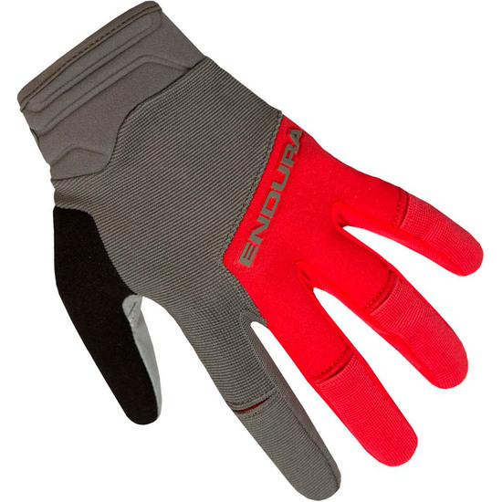 ENDURA Hummvee Plus II Red Gloves