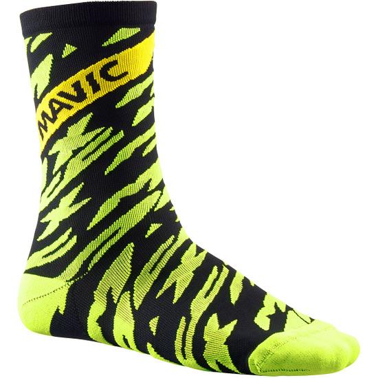 Calcetines MAVIC Deemax Pro High Safety Yellow / Black