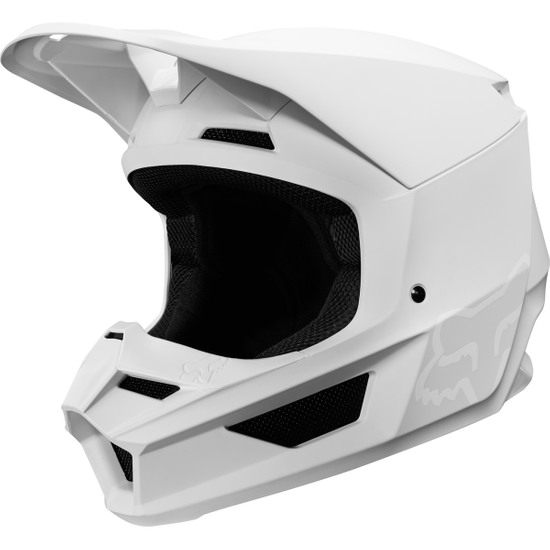 Fox Racing 2019 V1 Helmet Visor Stone Matte Large