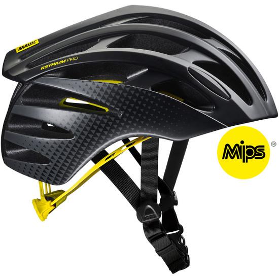 Helm MAVIC Ksyrium Pro MIPS Black / Yellow Mavic