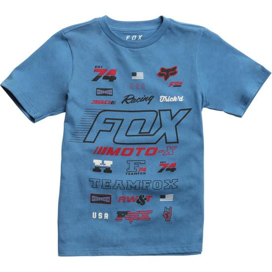 Camiseta FOX Edify Junior DST Blue