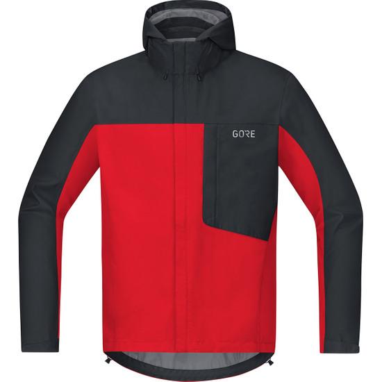 Casaco GORE C3 Gore-Tex Paclite Red / Black