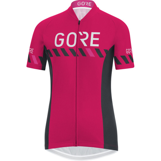 Maillot GORE C3 Brand 2018 Lady Jazzy Pink / Black