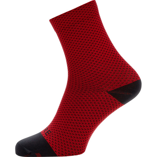 Calcetines GORE C3 Dot Mid Red / Black