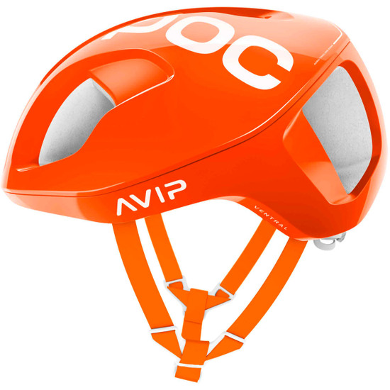 Casco POC Ventral Spin Zink Orange AVIP