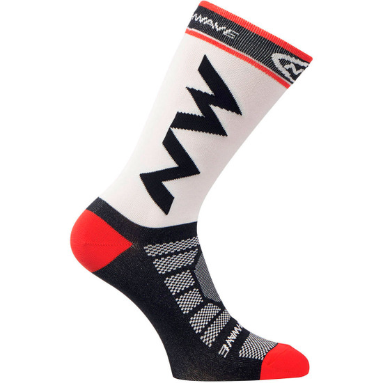 Calcetines NORTHWAVE Extreme Light Pro White / Black / Red