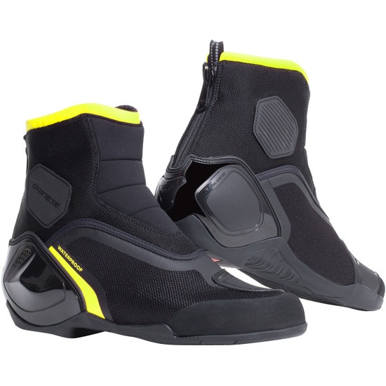 Bottes DAINESE Dinamica D-WP Black / Fluo-Yellow