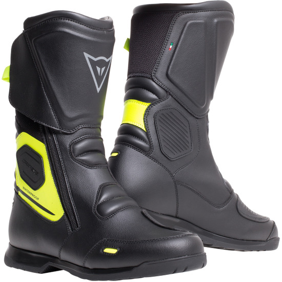 Bottes DAINESE X-Tourer D-WP Black / Fluo-Yellow