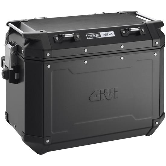 Koffer GIVI Trekker Outback 48 Black Line Monokey Cam-side