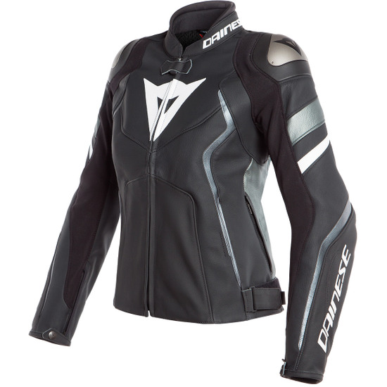 Blouson DAINESE Avro 4 Lady Black-Matt / Anthracite / White