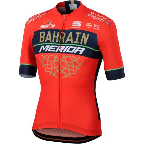 Maillot MERIDA Bahrain 2018 Bodyfit Team Red