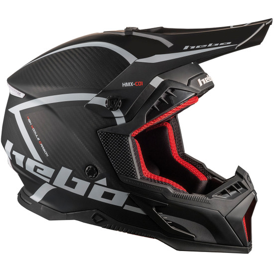 Casque HEBO Legend Carbon Black