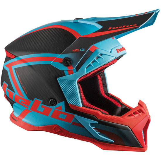 Helm HEBO Legend Carbon Turquoise