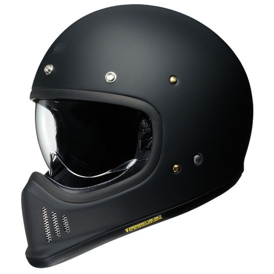 SHOEI Ex Zero Matt Black Helmet