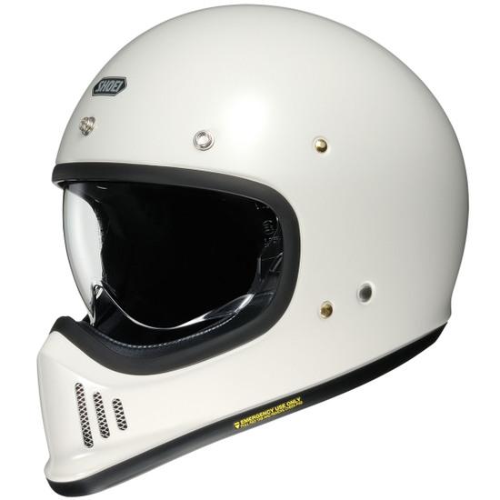 SHOEI Ex Zero Off White Helmet