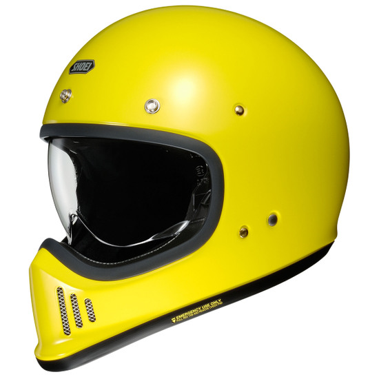 Casco SHOEI Ex Zero Brilliant Yellow