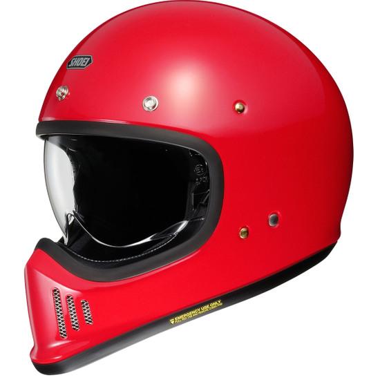 SHOEI Ex Zero Shine Red Helmet