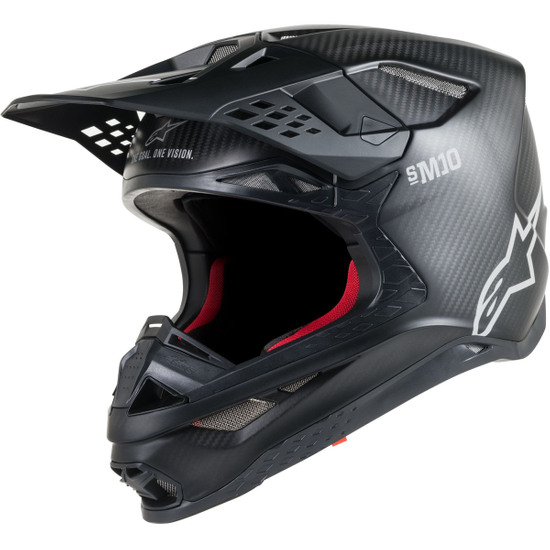 Casque ALPINESTARS Supertech S-M10 Solid Black Matt Carbon