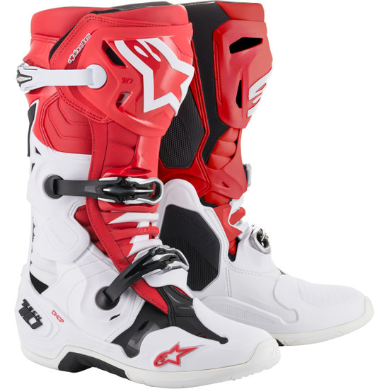 Botas ALPINESTARS Tech 10 2020 Red / White / Black