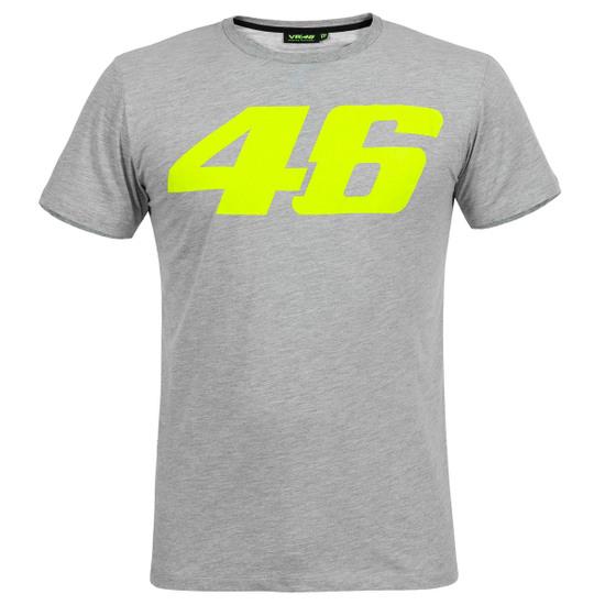 Camiseta VR46 Rossi Core Large 46 3250 Grey