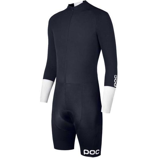 POC Aero TT Suit Navy Black / Hydrogen White Jersey