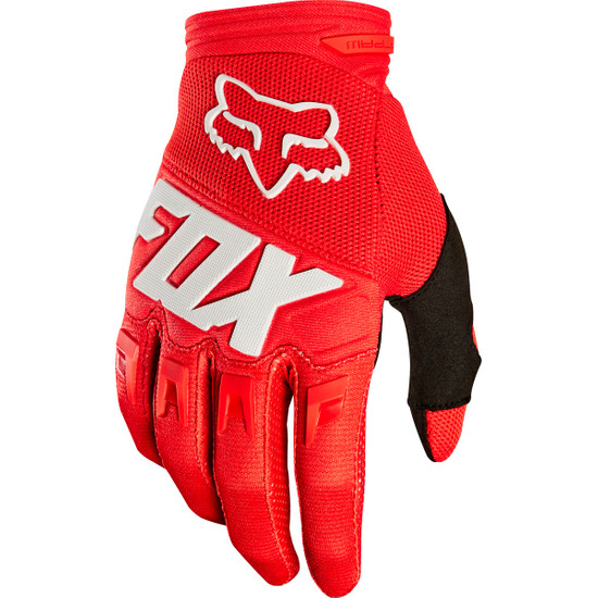Handschuh FOX Dirtpaw Junior Race Red