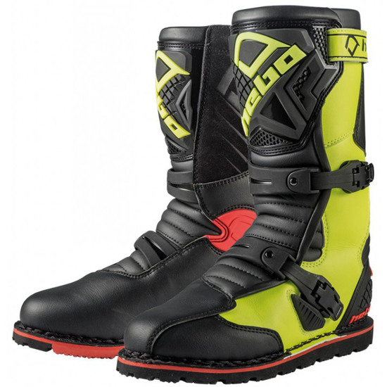 Stiefel HEBO Technical 2.0 Micro Yellow Fluor / Black