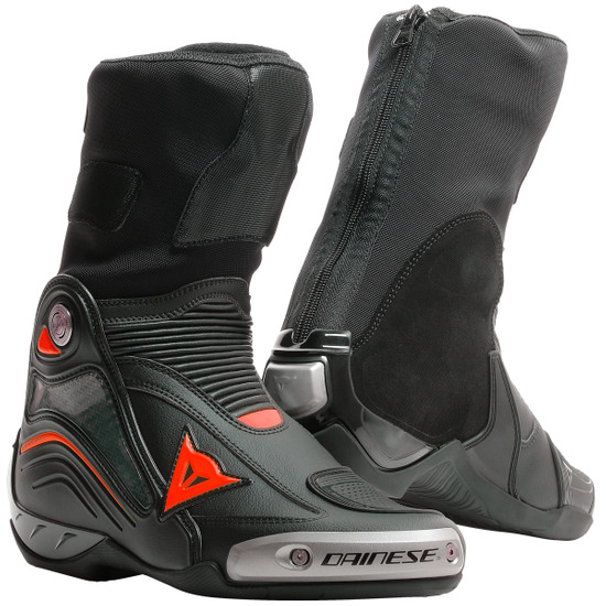 Stivale DAINESE Axial D1 Black / Fluo-Red