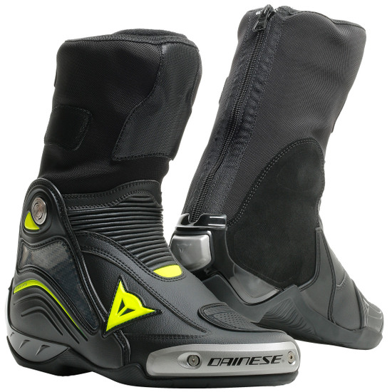 Stivale DAINESE Axial D1 Black / Yellow-Fluo