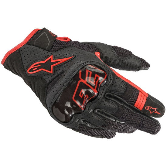 ALPINESTARS Rio Hondo Black / Red Gloves