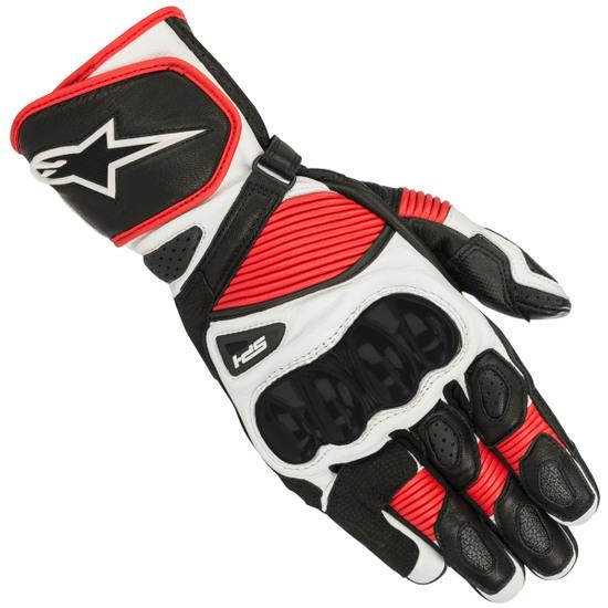 Handschuh ALPINESTARS SP-1 V2 Black / White / Red
