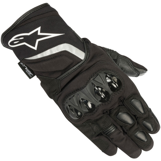 Black//Yellow//White//Red Large Alpinestars SP-5 Leather Touchscreen Gloves L